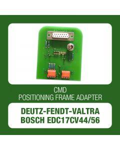 CMD Flashtec - DEUTZ / FENDT / VALTRA EDC17CV44/56 positioning frame adapter (DFV_EDC17CV44-56_ADEU)-3