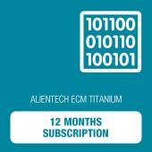 Alientech - ECM Titanium - 12 Months Subscription (18C7570001)
