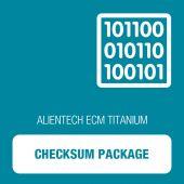 Alientech - ECM Titanium - Checksum Package (149757CKPR)