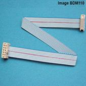 Interface cable for ECUs with original BDM pinout, 10pin - 10pin