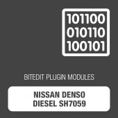 BitEdit Nissan Denso Diesel SH7059 Module