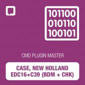 CMD plugin Case New Holland EDC16+C39 (BDM+CHK) MASTER