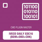 Flashtec - CMD Plugin Iveco Daily EDC16 (BDM+OBD+CHK) MASTER (CMD10.02.03)