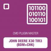 Flashtec - CMD Plugin John Deere x30 TIR3 (BDM+CHK) MASTER (CMD10.02.11)