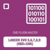 CMD plugin Lancer EVO 5,6,7,8,9 (OBD+CHK) MASTER