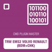 Flashtec - CMD Plugin TRW EMS2 Volvo Renault (BDM+CHK) MASTER (CMD10.02.12)