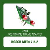 Bosch MED17.5.2 TriCore positioning frame adapter for CMD Flash - t