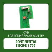 CMD Continental SID208 1797 positioning frame adapter for CMD Flash - t