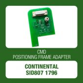 Continental SID807 1796 Tricore positioning frame adapter for CMD Flash - t