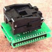 DIL32/PLCC32 ZIF-CS programming adapter