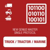 New Genius Single Truck / Tractor / Marine protocol MASTER