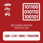 New Genius Car, LCV, Bike and Tractor OBD protocol kit MASTER