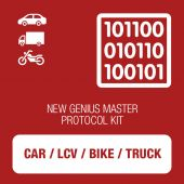 New Genius Car, LCV, Bike and Truck OBD protocol kit MASTER