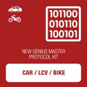 New Genius Car, LCV and Bike OBD protocol kit MASTER