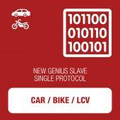 New Genius Car, Bike and LCV OBD protocol kit SLAVE