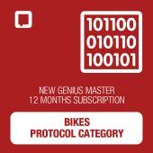 New Genius Single Category Subscription MASTER for Bikes