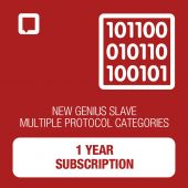 New Genius Multiple Category 1 Year Subscription SLAVE