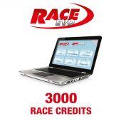 RACE 3000 Credits