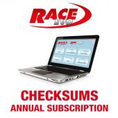 RACE EVO and DS MANAGER 1-Year Subscription for New Checksum Modules