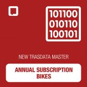 New Trasdata Annual Subscription MASTER BIKES