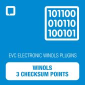 WinOLS - 3 Checksum Points (OLS-CKS3)