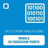 WinOLS - 50 Checksum Points (OLS-CKS50)