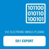 WinOLS - EK1 Export (OLS1005)