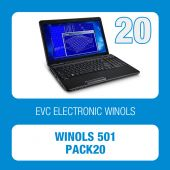 WinOLS - 501 Packet with 20 checksum points (OLS501-PACK20)