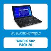 EVC - WinOLS 502 Pack20