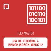 Software Flex BL Tricore + Bench Bosch MEDC17 - MASTER (FLS0.10M)