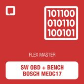 Software Flex OBD + Bench Bosch MEDC17