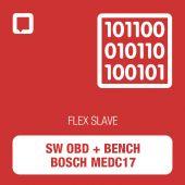 Software Flex OBD + Bench Bosch MEDC17 SLAVE