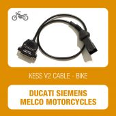 Alientech KessV2 Ducati OBD connector cable for Siemens VDO and Melco Mitsubishi ECU
