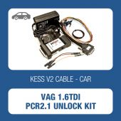 KessV2 hardware kit for unlocking the Siemens PCR1.2 ECU on 1.6TDI - t