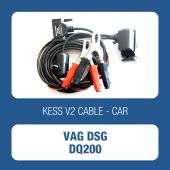 Alientech - KessV2 OBD to DSG DQ200 ECU programming cable (144300K254)-1