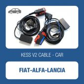 KESSv2 Fiat 38 pin diagnostic ECU connector cable for Bosch ECU ME7.3.1, ME3.1, ME2.1, ME7.3H4 - t