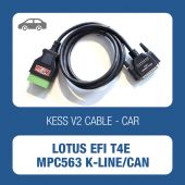 Alientech KessV2 Lotus EFI T4E MPC563 K-line/CAN cable - t