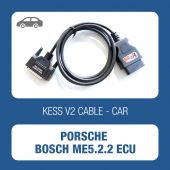 KESSv2 OBD connector cable for Porsche Bosch ECU ME5.2.2 - t