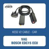 Kessv2 VAG EDC15 ecu cable-144300K206 - t