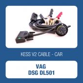 KessV2 OBD to DSG DL501 ECU programming cable