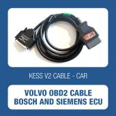 KESSv2 Volvo OBDII Cable for Bosch and Siemens ECUs