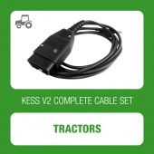 KESSv2 complete set of cables for Tractors