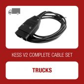 KESSv2 complete set of cables for Trucks