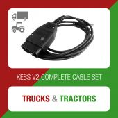 Alientech - KESSv2 complete set of cables for Trucks and Tractors (144300KTTT)
