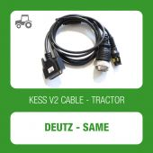 Alientech - KESSv2 Deutz-Same 19 pin diagnostic connector cable (144300K260)-1