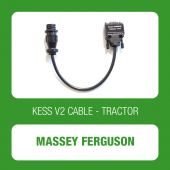 Alientech - KESSv2 Massey Ferguson 9 pin diagnostic connector cable (144300K255)-1