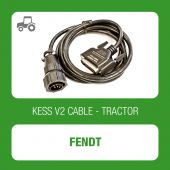 Kessv2 Fendt 12Pin OBD cable - 144300K233 - t