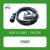 Alientech KessV2 Fendt 4 pin K-LINE diagnostic connector cable - t