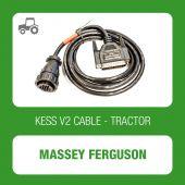 Kessv2 Massey Ferguson 16Pin OBD cable - 144300K230 - t