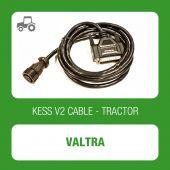 Kessv2 Valtra 8Pin OBD cable - 144300K228 - t